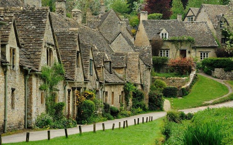 Bibury w Anglii