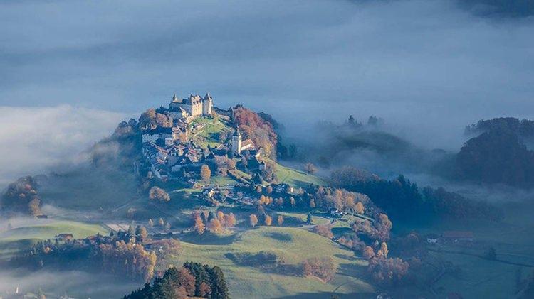 Gruyères w Szwajcarii