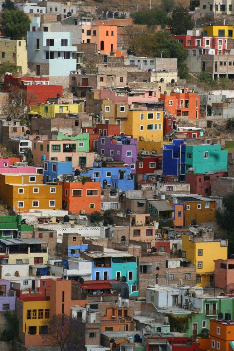 Guanajuato - kolorowe miasto w Meksyku