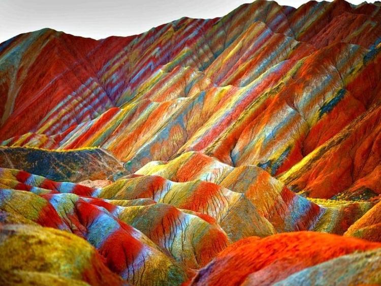 góry Danxia