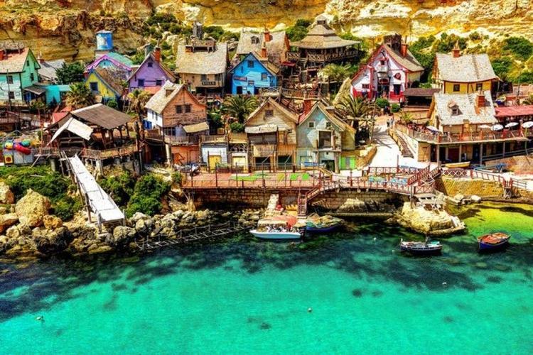 Popeye Village na Malcie