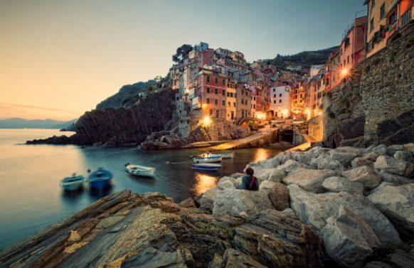 Riomaggiore we Włoszech