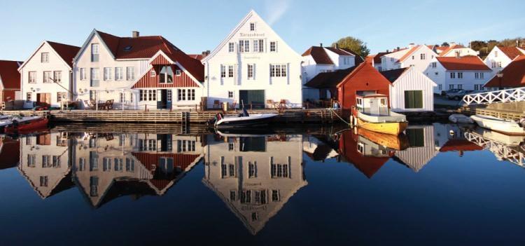 Wioska rybacka - Skudeneshavn, Norwegia