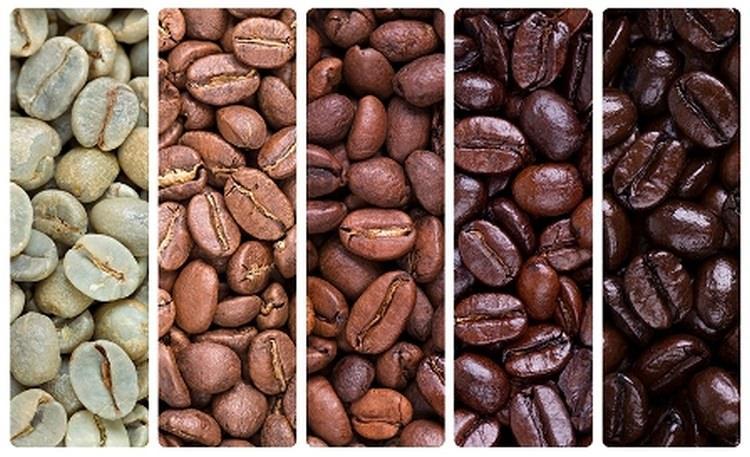 Stopień palenia kawy