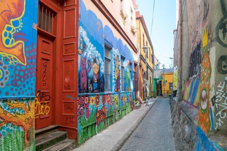 Valparaíso w Chile
