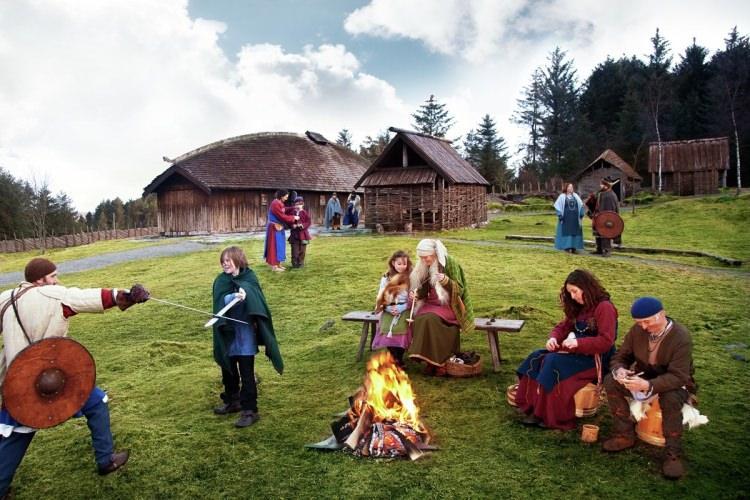 wioska Wikingów w Karmoy, Norwegia