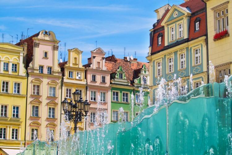 Kolorowe miasta - Wrocław