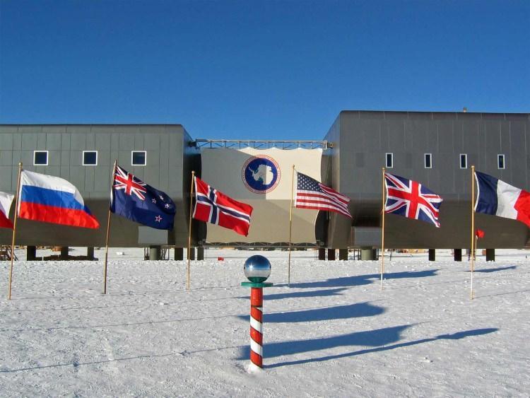 biegun południowy geograficzny