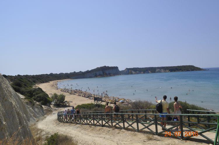 Plaża Gerakas na wyspie Zakynthos