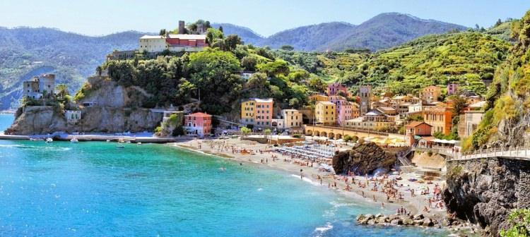 Monterosso al Mare Cinque Terre Włochy