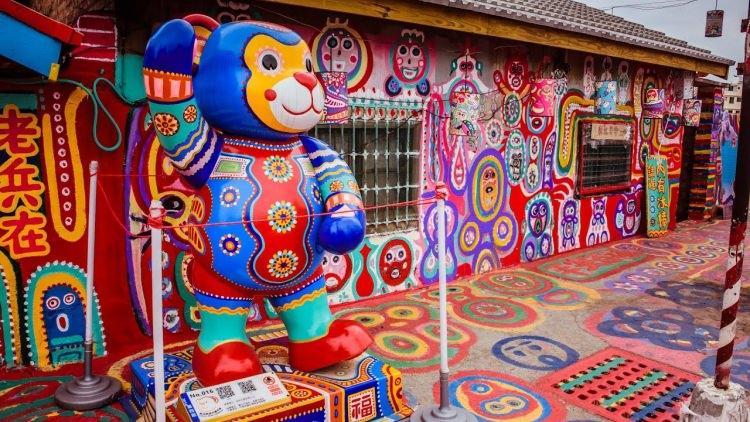 Rainbow Village na Tajwanie