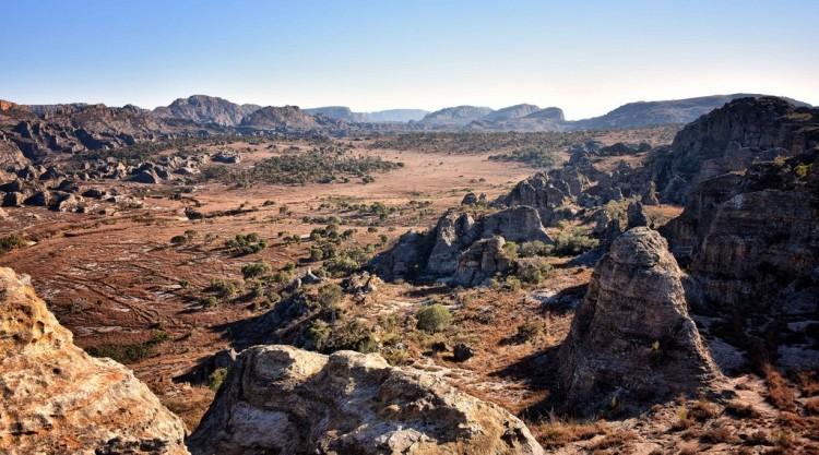 park narodowy isalo na Madagaskarze