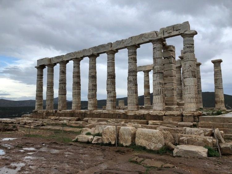Świątynia Posejdona na Sunionie