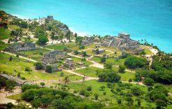 ruiny Majów w Tulum