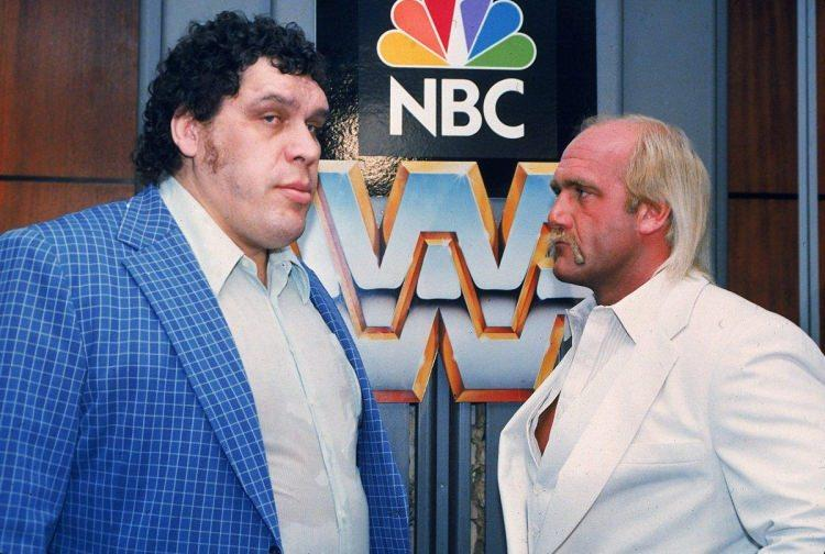 Andre the Giant i Hulk Hogan