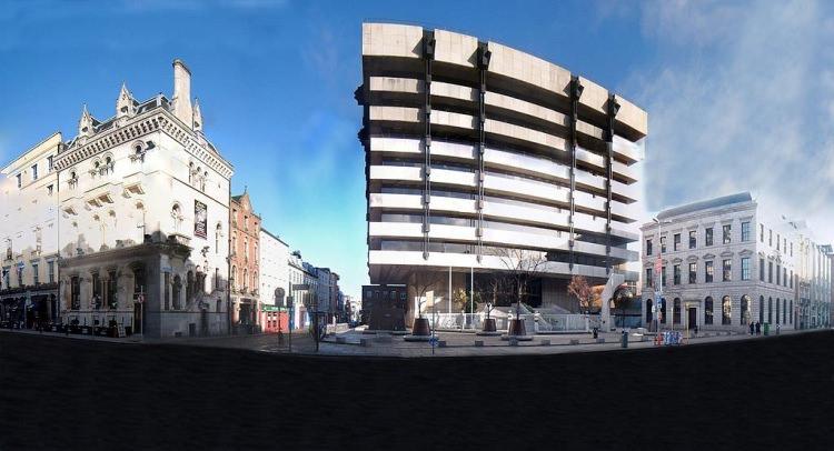 Była siedziba Banku Centralnego w Dublinie