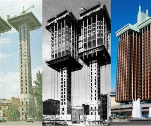 """""""Torres de Colón"""" – budynek, który został zbudowany od góry do dołu"""