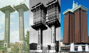 Torres de Colón - Wieże Kolumba w Madrycie