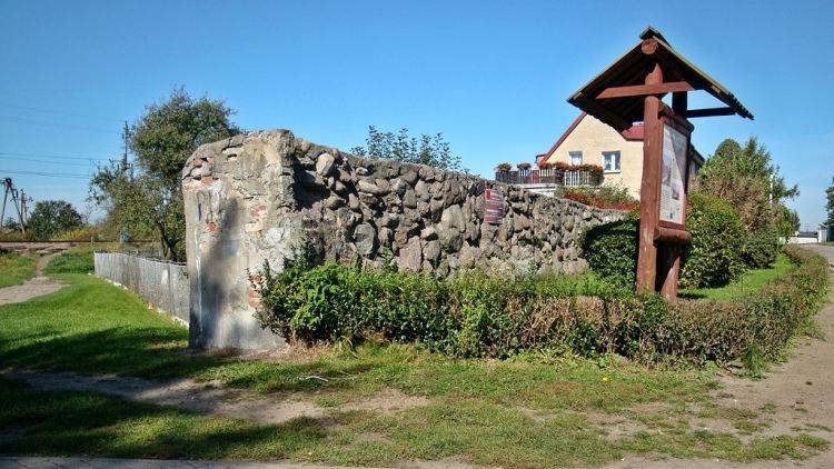 Fragment murów obronnych Świdwina