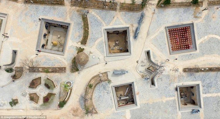 Yaodong - mieszkania pod ziemią w Chinach