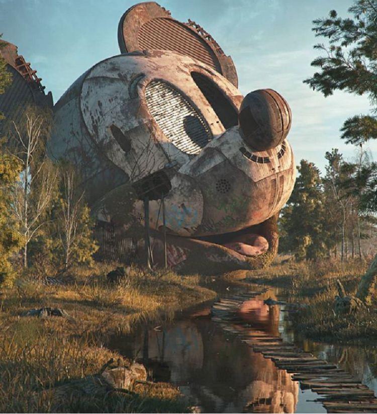 Apokalipsa popkultury na grafikach Filipa Hodasa
