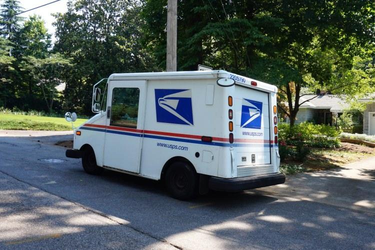 poczta w USA