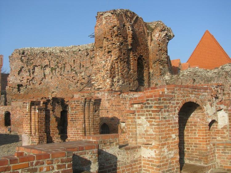 Ruiny Zamku Dybowskiego w Toruniu