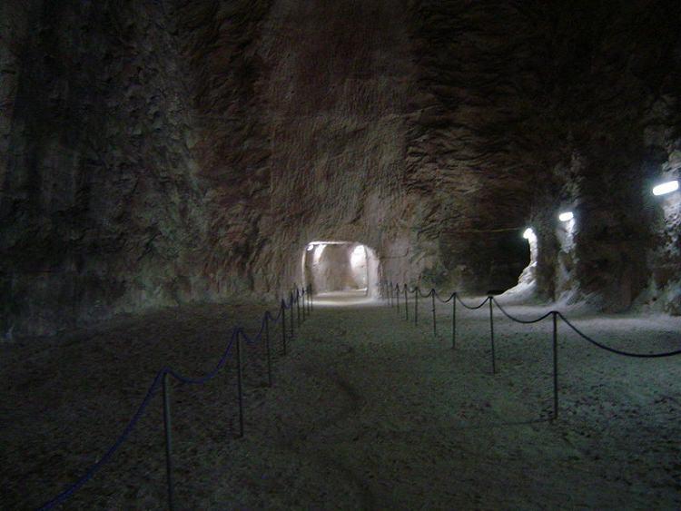 szlak turystyczny w kopalni Kłodawa