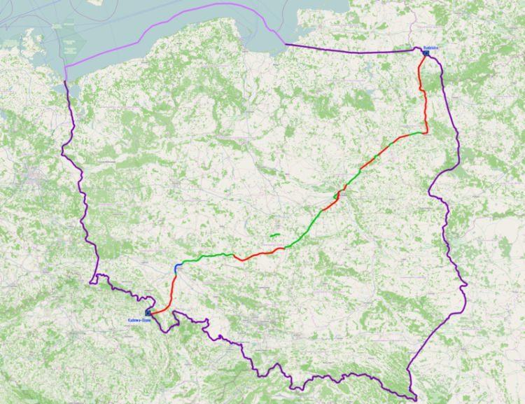 Droga Krajowa numer 8 to najdłuższa droga w Polsce