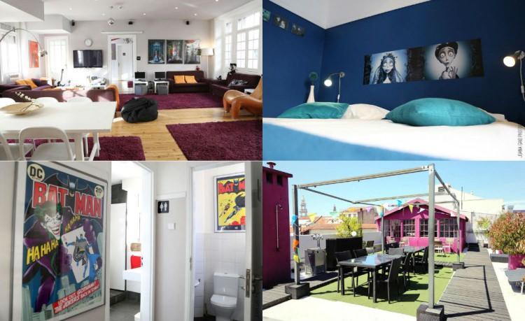rivoli cinema hostel w Porto