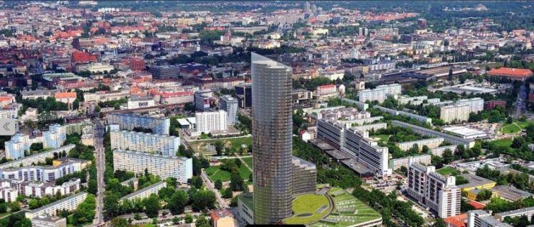 SkyTower we Wrocławiu - najwyższy budynek mieszkalny w Polsce