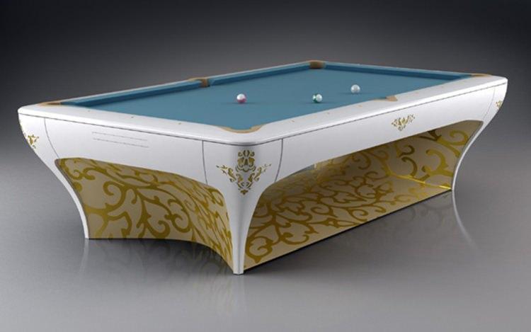 Najdroższy stół do bilarda na świecie zaprojektował Vincent Facquet