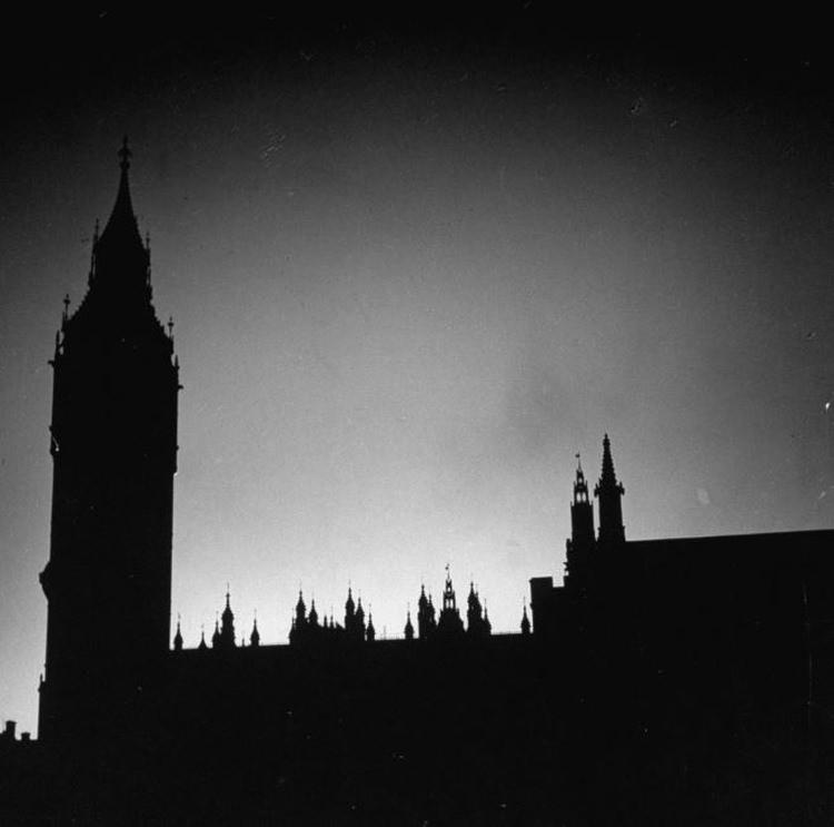 Big Ben podczas II wojny światowej
