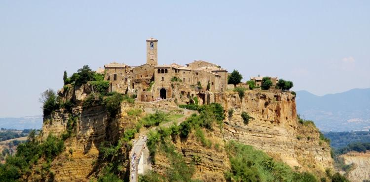 Civita di Bagnoregio we Włoszech