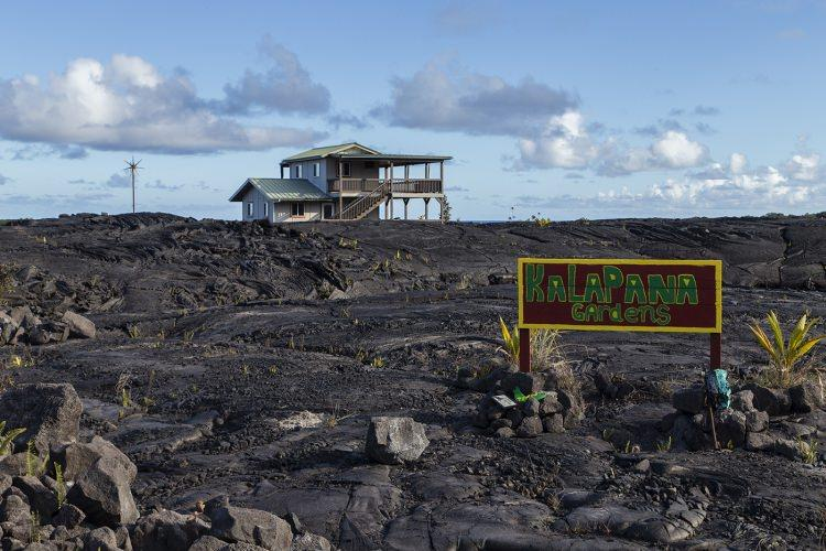 Kalapana - miasto zniszczone przez Wulkan