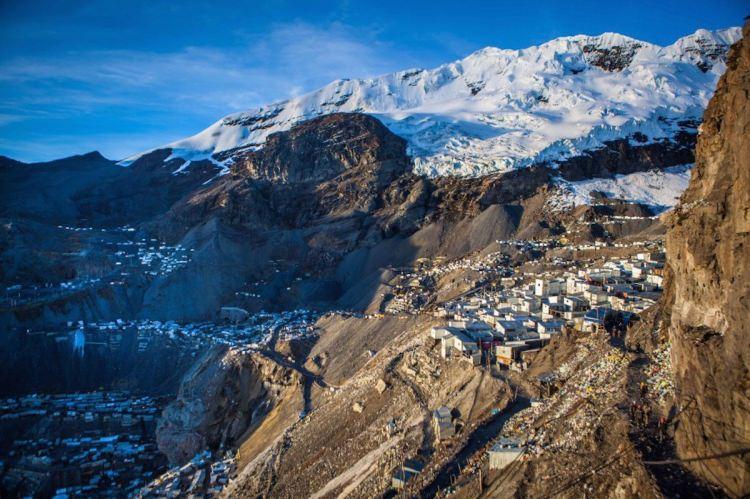 La Rinconada - najwyżej położona miejscowość na świecie