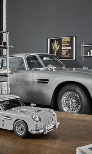 Aston Martin DB5 Jamesa Bonda z klocków LEGO!