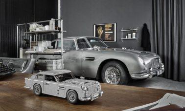 Samochód Jamesa Bonda z LEGO