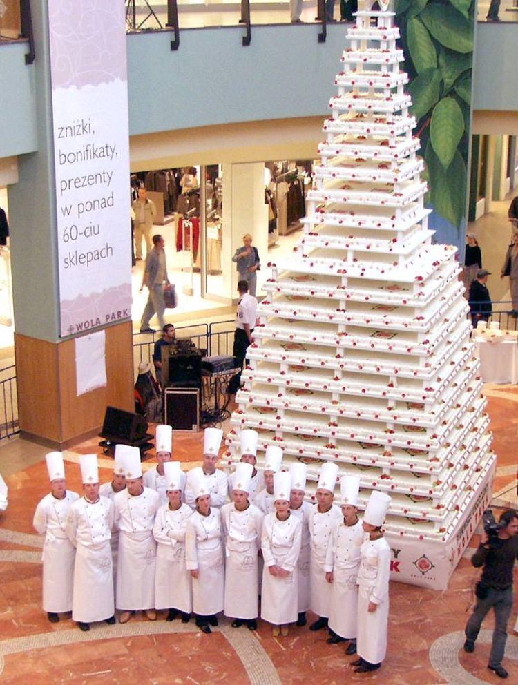 największy tort ślubny na świecie