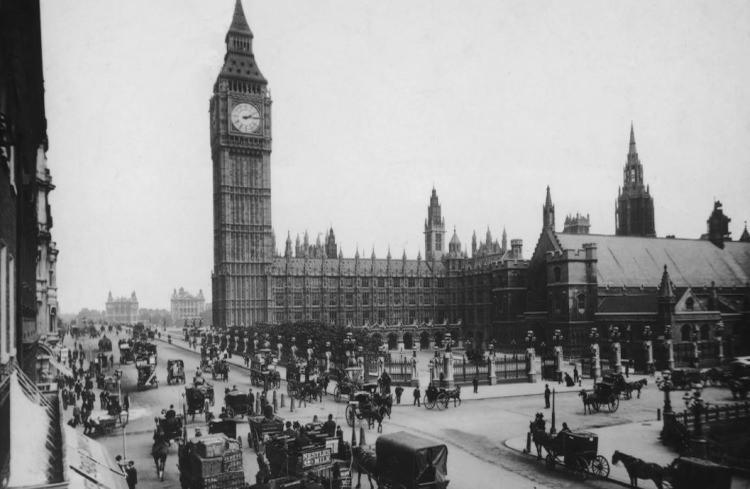 Big Ben - stare zdjęcia