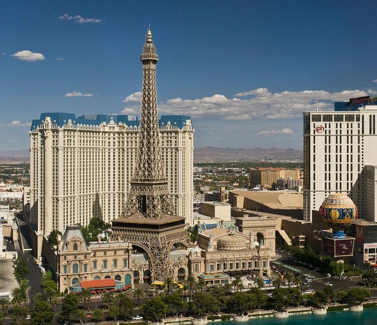 replika wieży Eiffla w Las Vegas