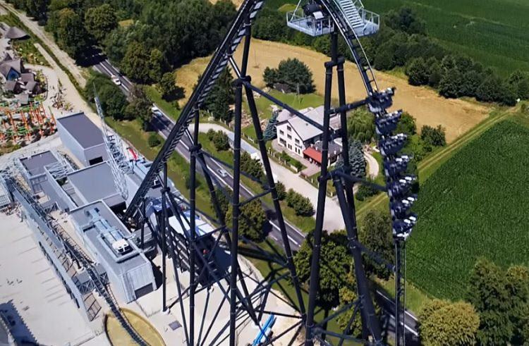 Hyperion to największy i prawie najszybszy rollercoaster w Europie