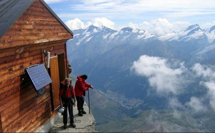 schronisko Solvay Hut