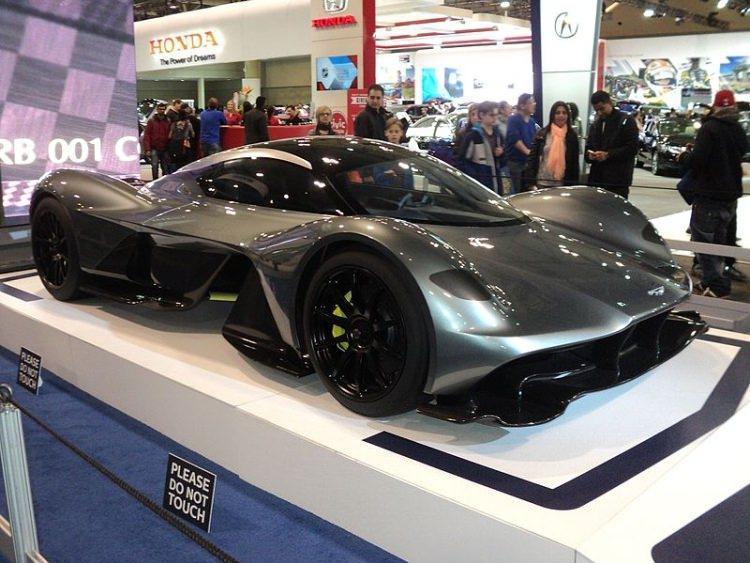 najdroższe samochody świata - Aston Martin Valkyrie