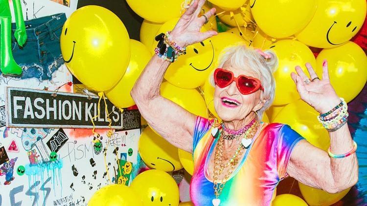 baddie winkle instagram - pozytywnie zakręcona babcia z instagrama