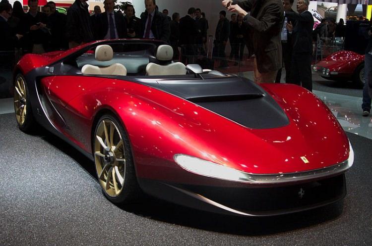 najdroższe samochody świata - Ferrari Pininfarina Sergio