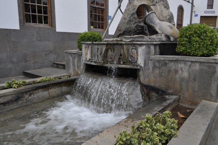 fontanna w Firagas - Gran Canaria