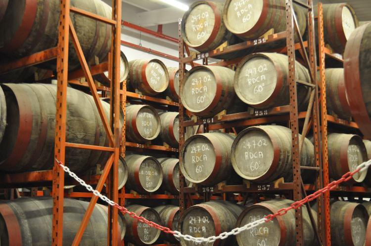 Destylarnia rumu w Arucas, Gran Canaria