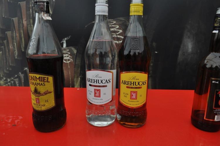 Rum z destylarni w Arucas