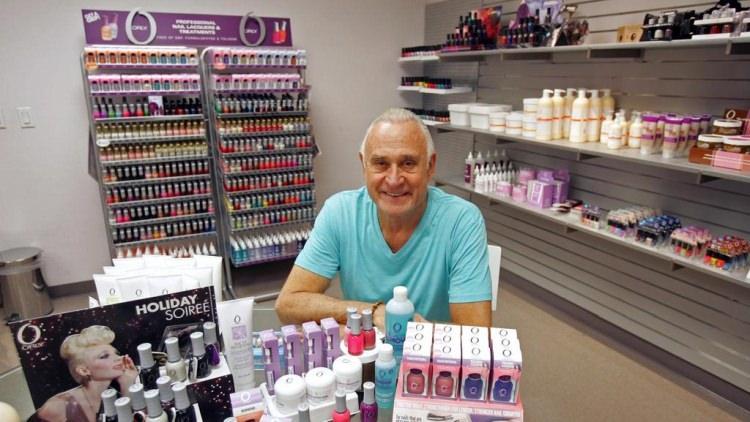 Jeff Pink - twórca francuskiego manicure